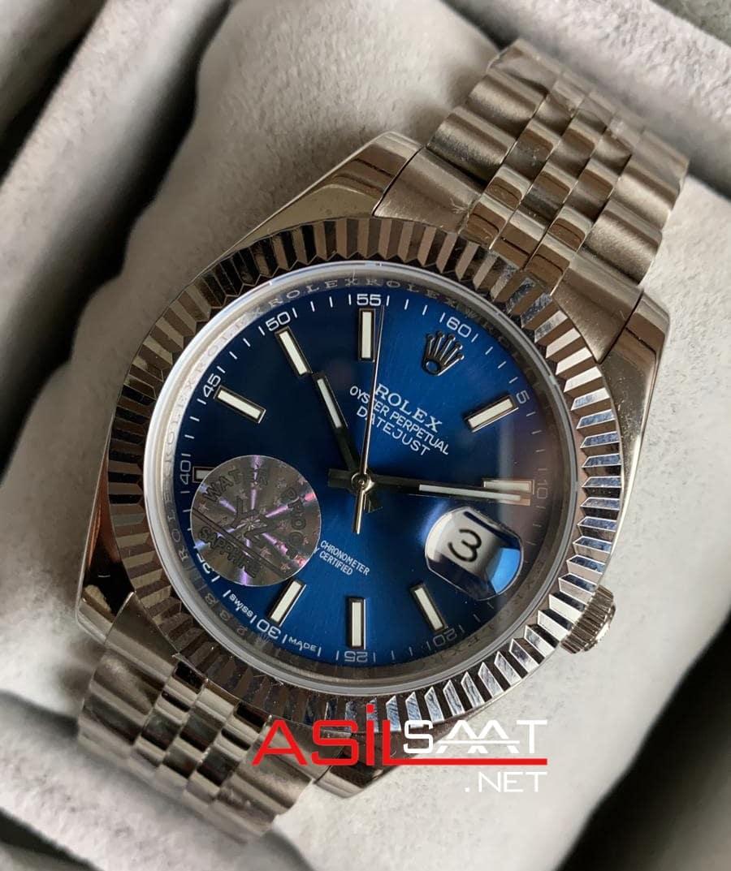 Rolex Datejust Silver Replika Saat ROLDJ002