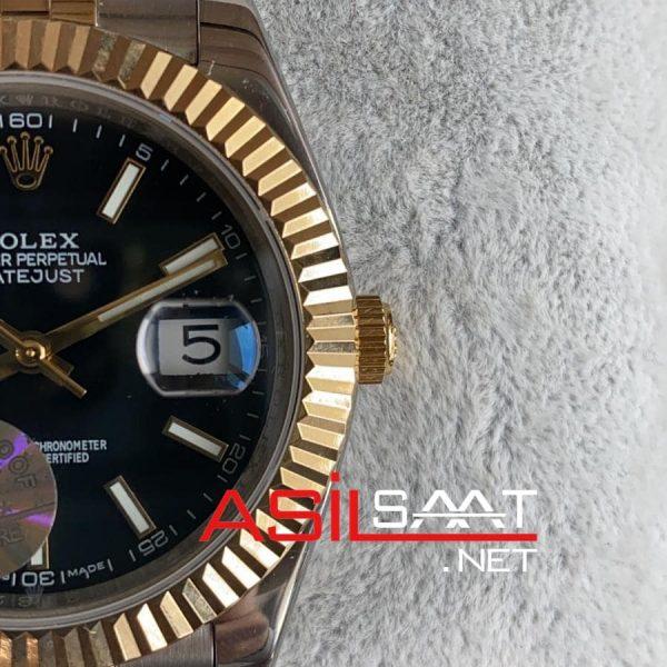 Rolex Datejust Two Tone Replika Saat ROLDJ014