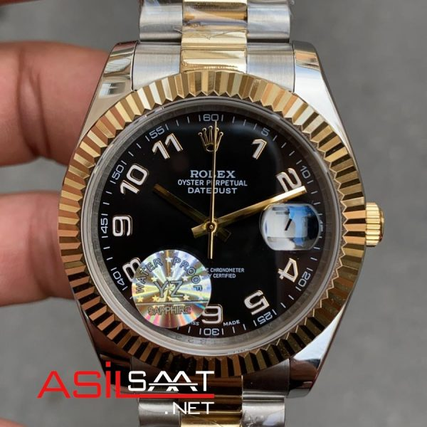 Rolex Datejust Two Tone Replika Saat ROLDJ024