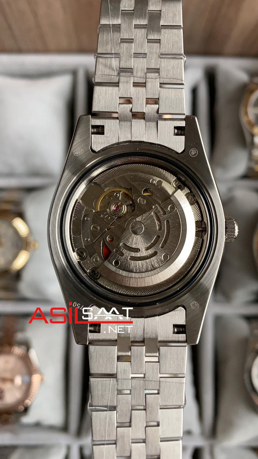 Rolex Datejust Wimbledon Silver Replika Saat ROLDJ012