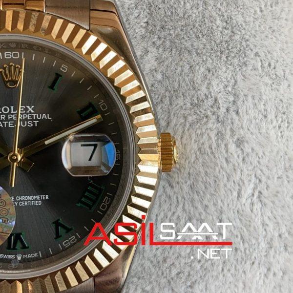 Rolex Datejust Wimbledon Two Tone Replika Saat ROLDJ020