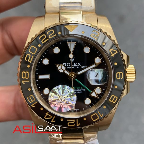 Rolex Gmt Master 2 Gold 116718 LN ROLG003