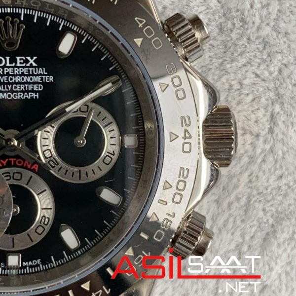 Rolex Oyster Perpetual Cosmograph Daytona Silver Replika Saat ROLDA001