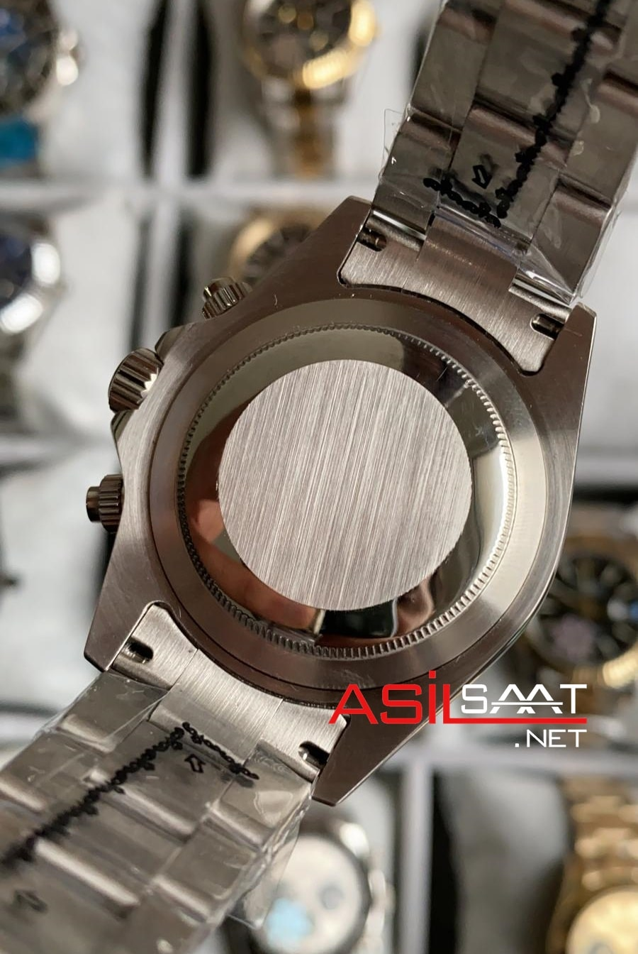 Rolex Oyster Perpetual Cosmograph Daytona Silver Replika Saat ROLDA002