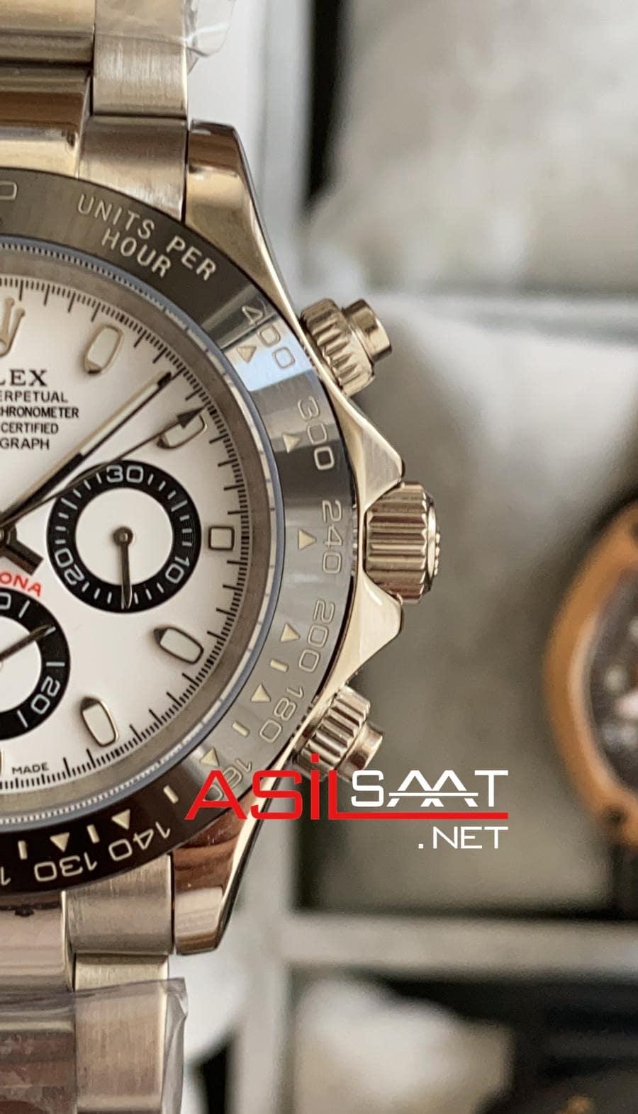 Rolex Oyster Perpetual Day-Date Silver Replika Saat ROLDD002