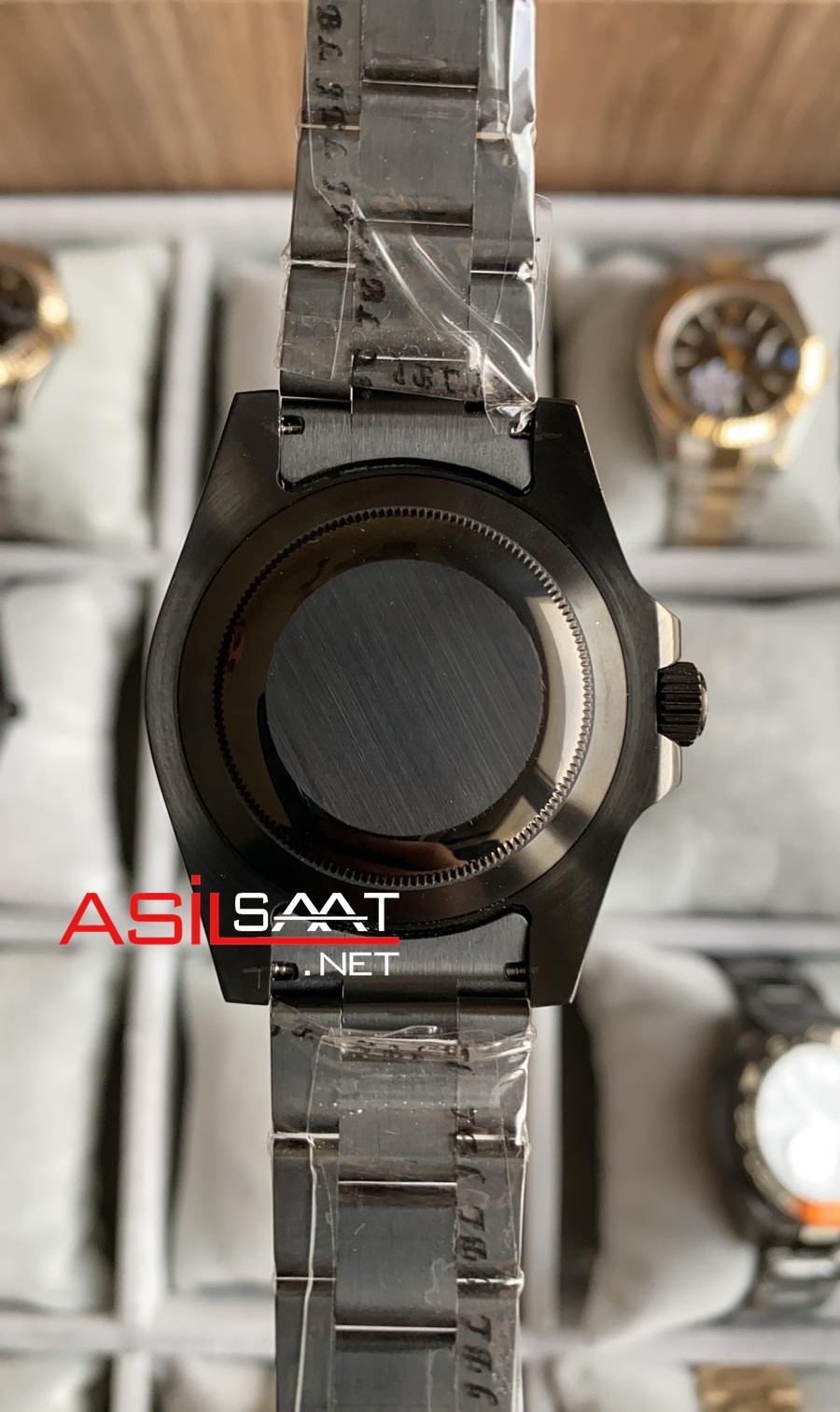 Rolex Oyster Perpetual Gmt Master II Batman Black Replika Saat ROLG009