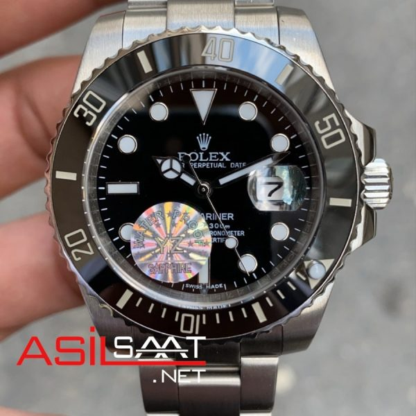 Rolex Oyster Perpetual Submariner Silver Replika Saat ROLS001