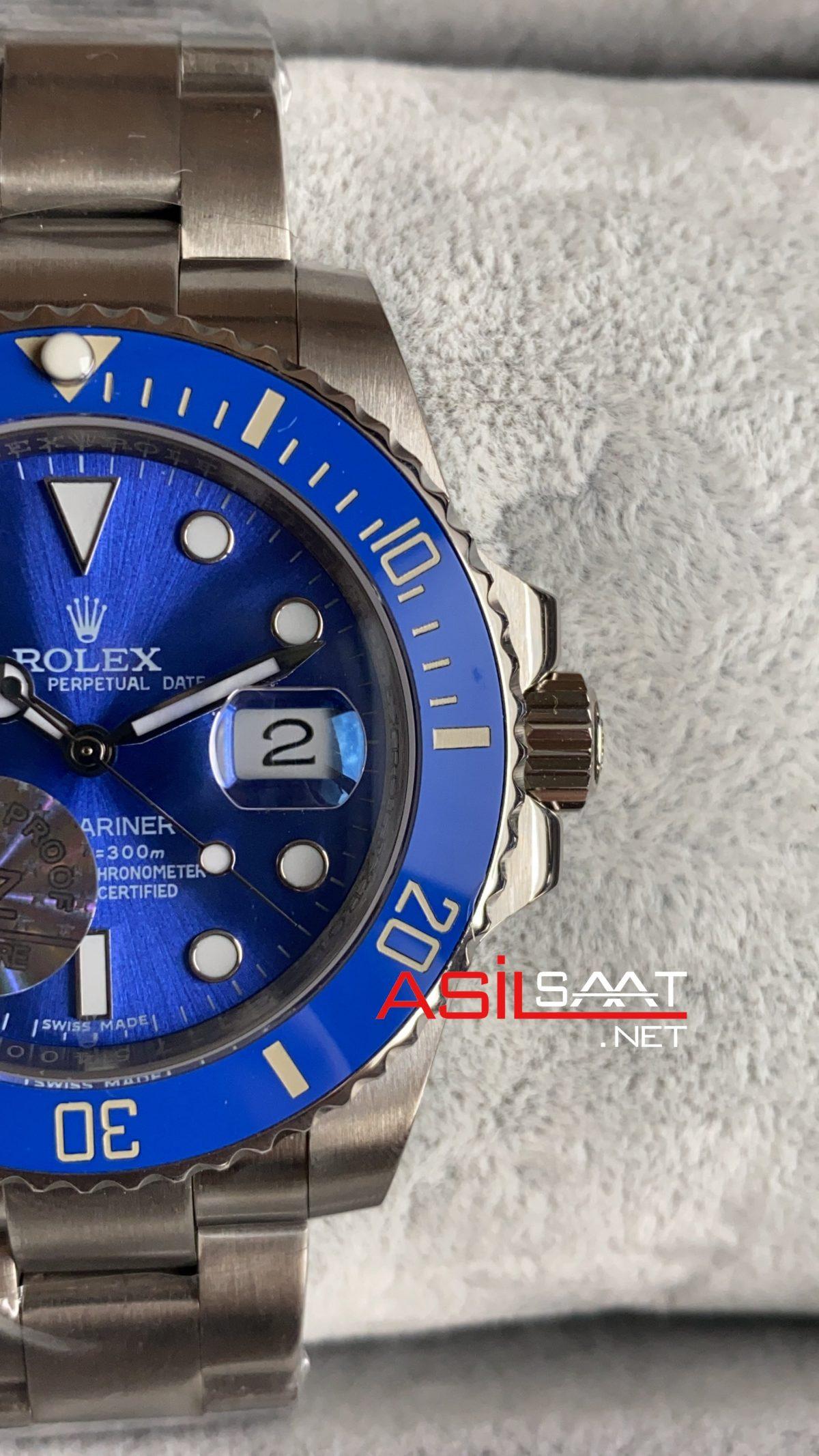 Rolex Submariner Smurf 116619LB ROLS005