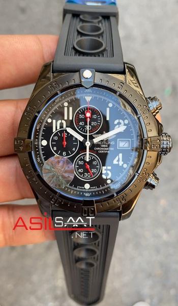 breitling-avanger-black-chronograph-kadran-siyah-replika-saat-asdsasdas-1