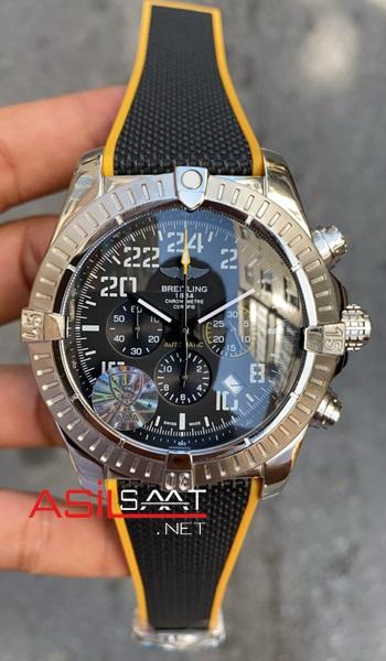breitling-avanger-night-mission-silver-chronograph-kadran-siyah-replika-saat-asdsasdas-1