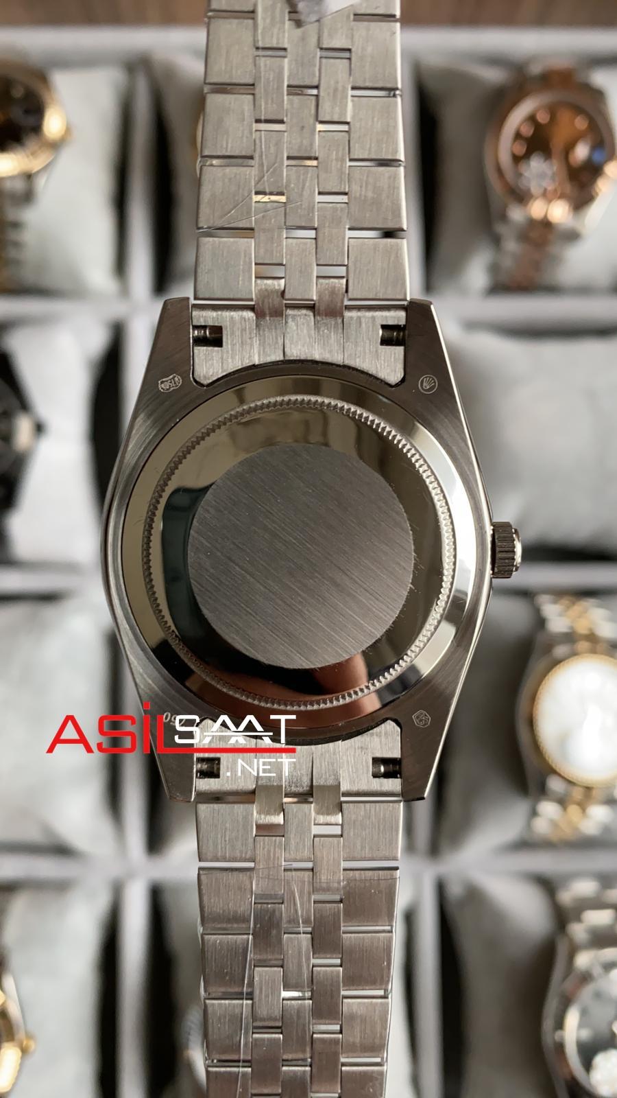 Rolex Datejust Silver Replika Saat ROLDJ003
