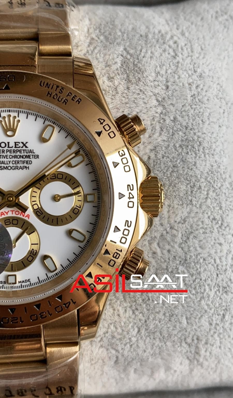 Rolex Oyster Perpetual Cosmograph Daytona Gold Replika Saat ROLDA018