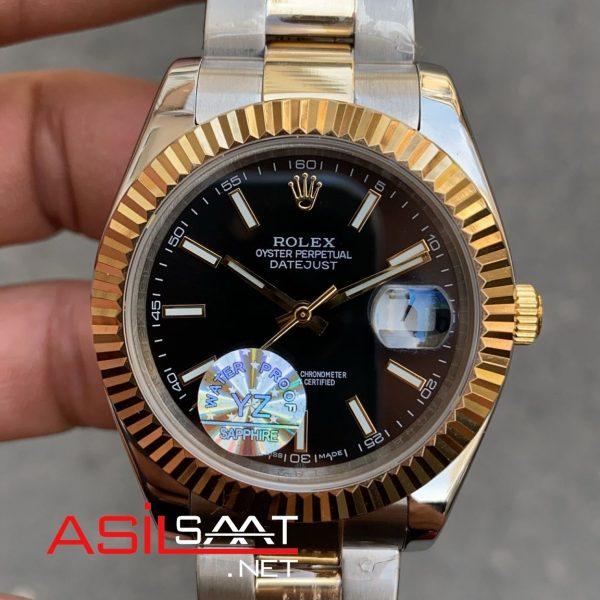 Rolex Datejust Two Tone Replika Saat ROLDJ015