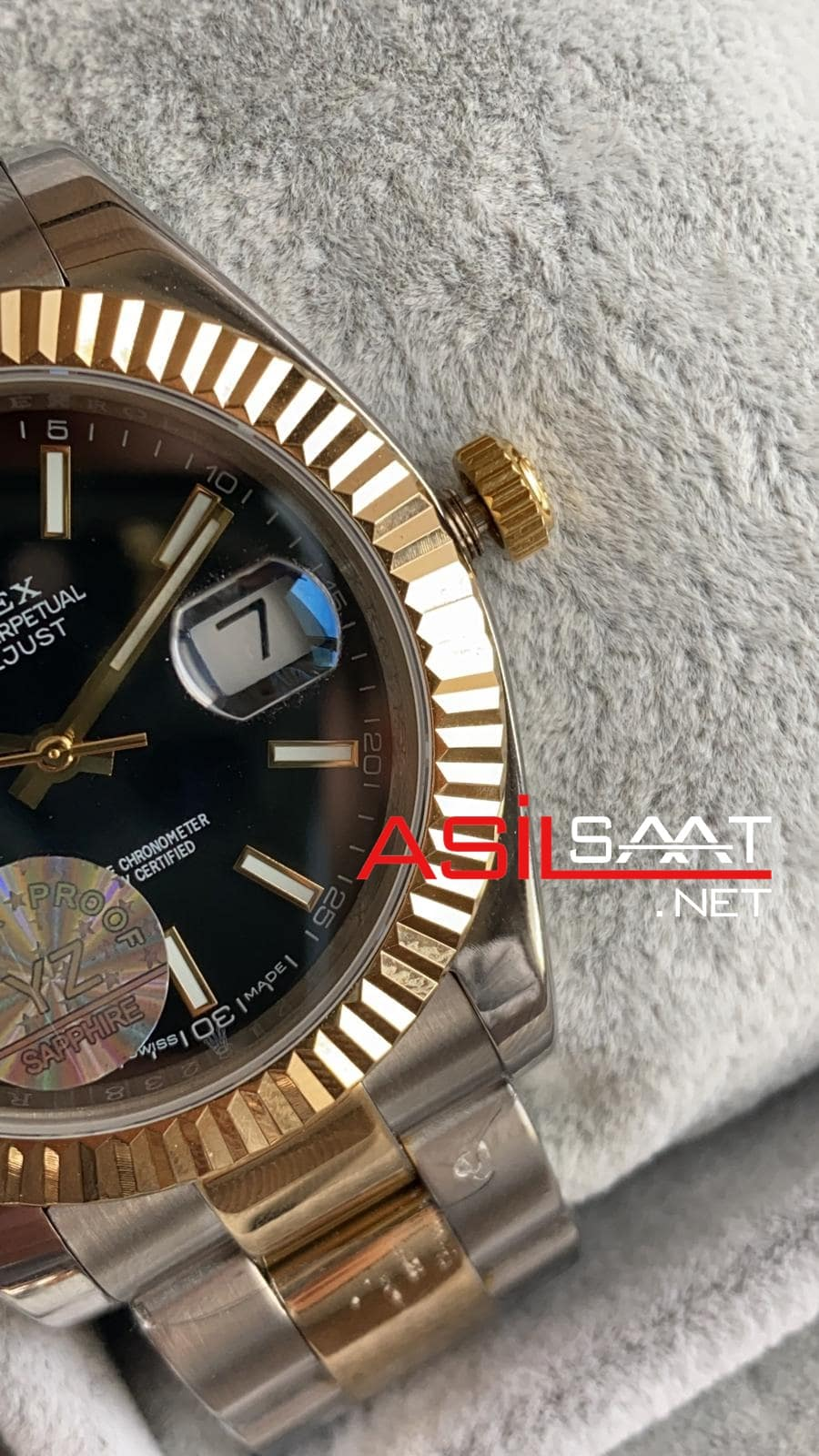 Rolex Datejust Two Tone Replika Saat ROLDJ015