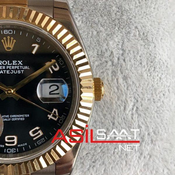 Rolex Datejust Two Tone Replika Saat ROLDJ025