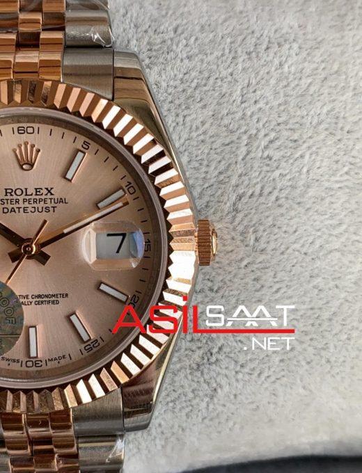 Rolex Datejust Two Tone Replika Saat ROLDJ029
