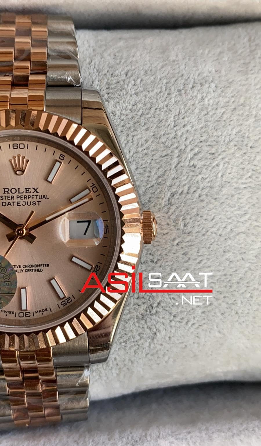 Rolex Datejust Two Tone Replika Saat ROLDJ029