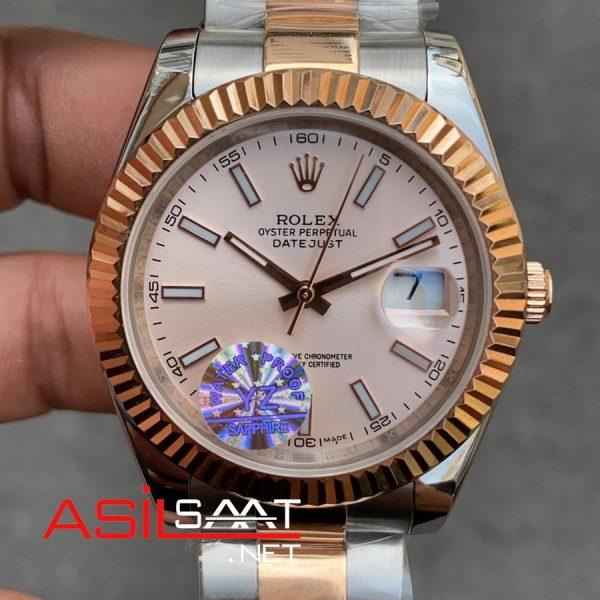 Rolex Datejust Two Tone Replika Saat ROLDJ030