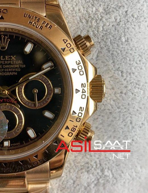 Rolex Oyster Perpetual Cosmograph Daytona Gold Replika Saat ROLDA017
