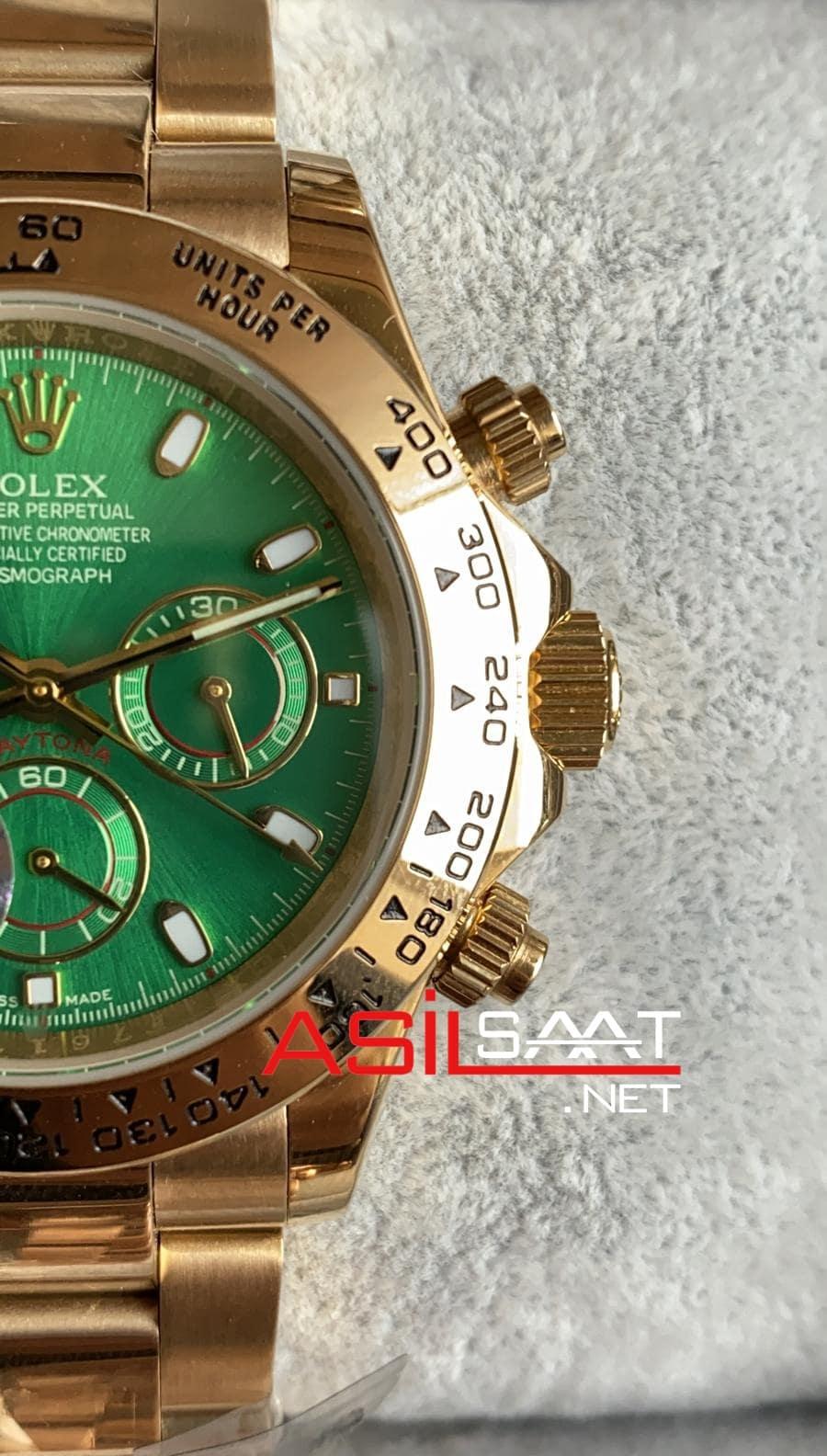 Rolex Oyster Perpetual Cosmograph Daytona Gold Replika Saat ROLDA021