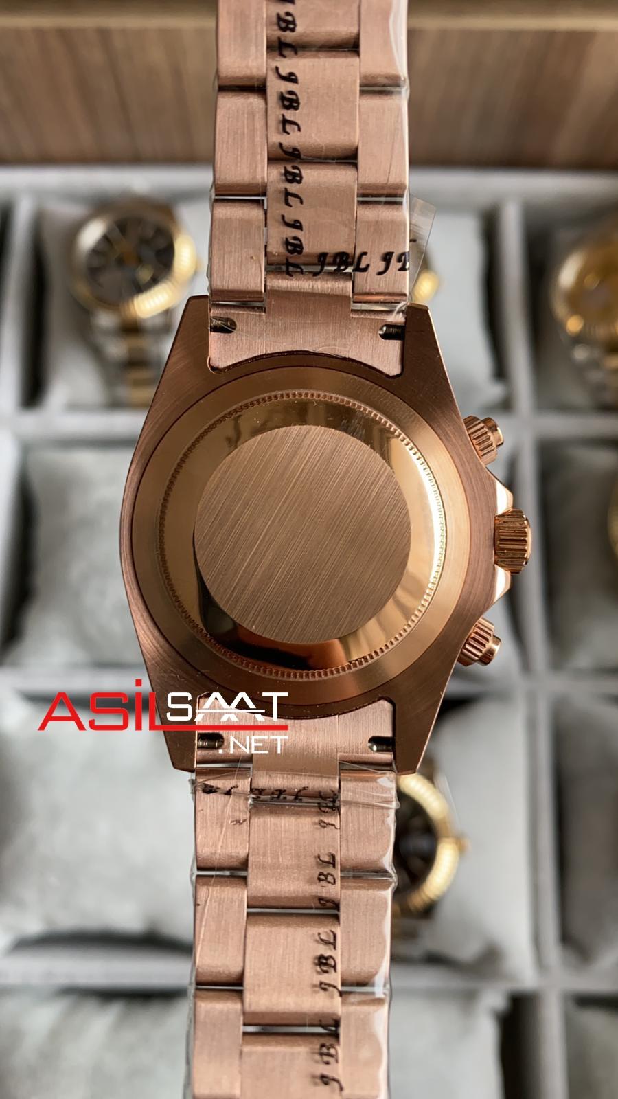 Rolex Oyster Perpetual Cosmograph Daytona Rosegold Replika Saat ROLD024