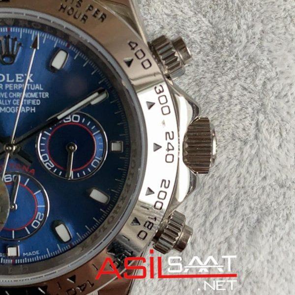 Rolex Oyster Perpetual Cosmograph Daytona Silver Replika Saat ROLDA010