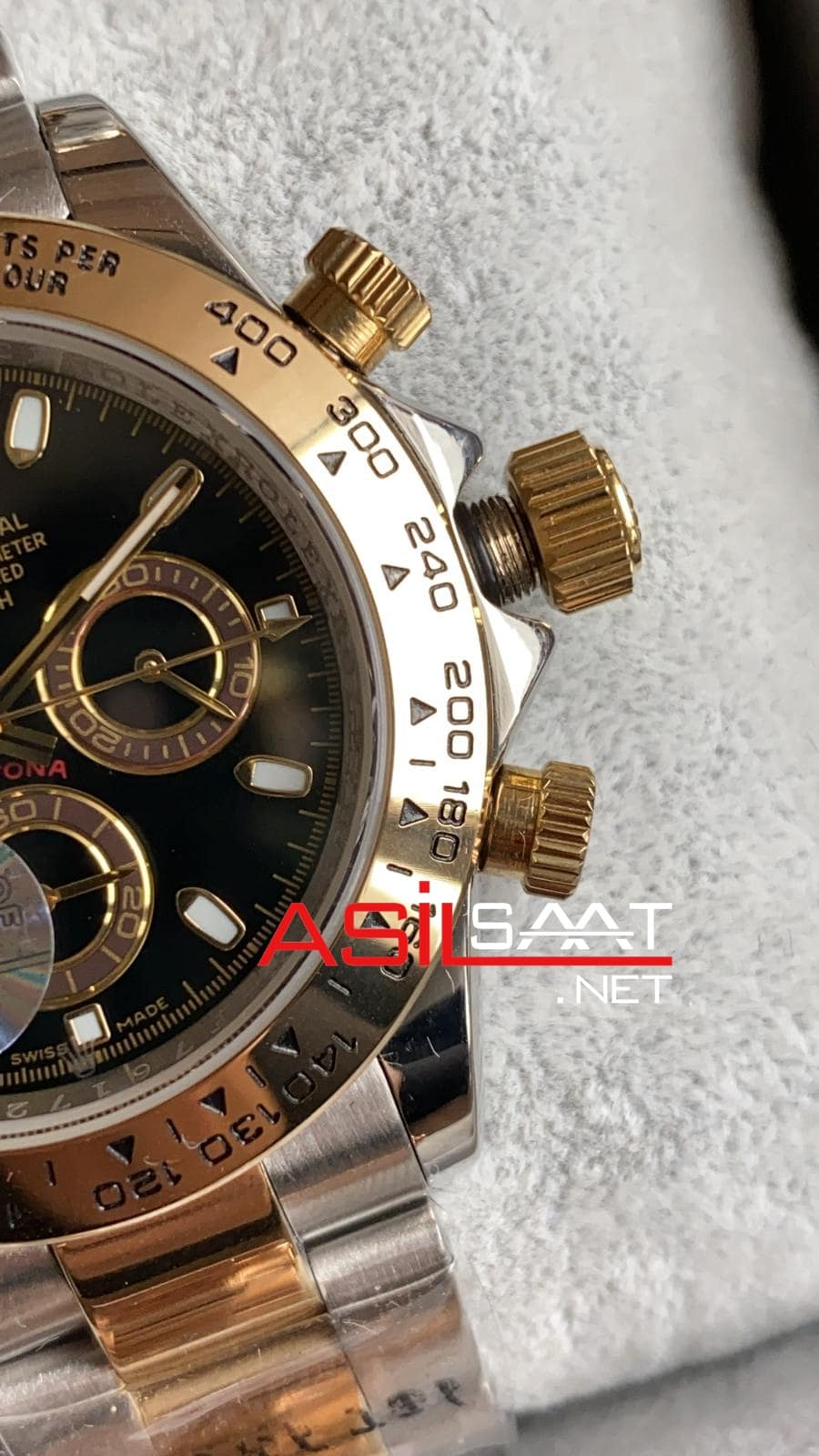Rolex Oyster Perpetual Cosmograph Daytona Two Tone Replika Saat ROLDA012