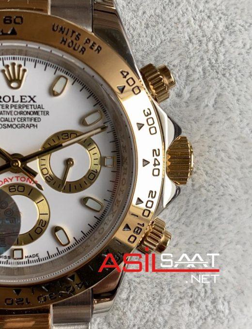 Rolex Oyster Perpetual Cosmograph Daytona Two Tone Replika Saat ROLDA013