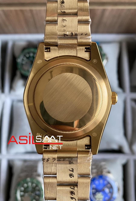Rolex Oyster Perpetual Sky Dweller Gold Replika Saat ROLSKY016