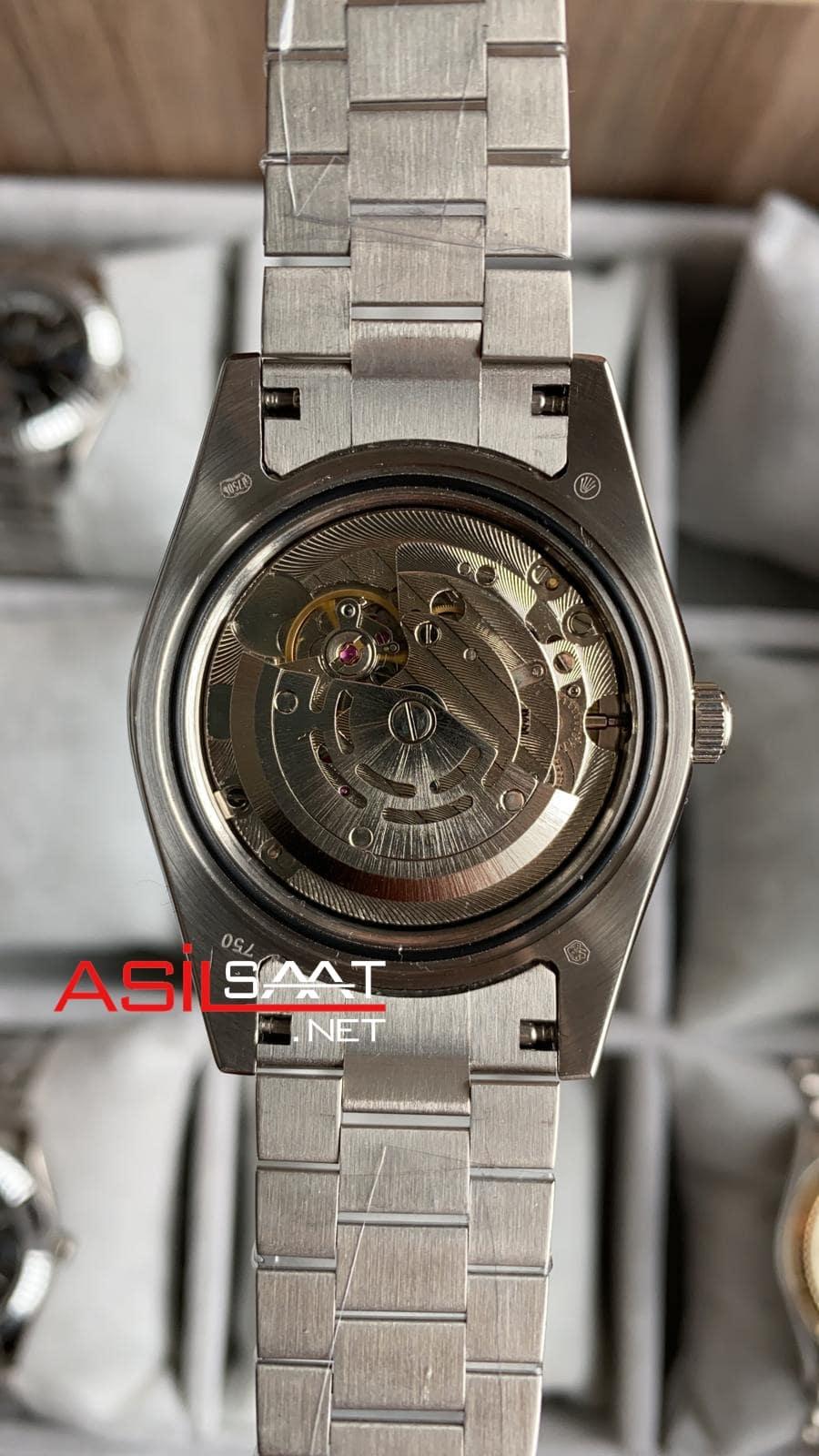 Rolex Day-Date Diamond Silver Replika Saat ROLDD057