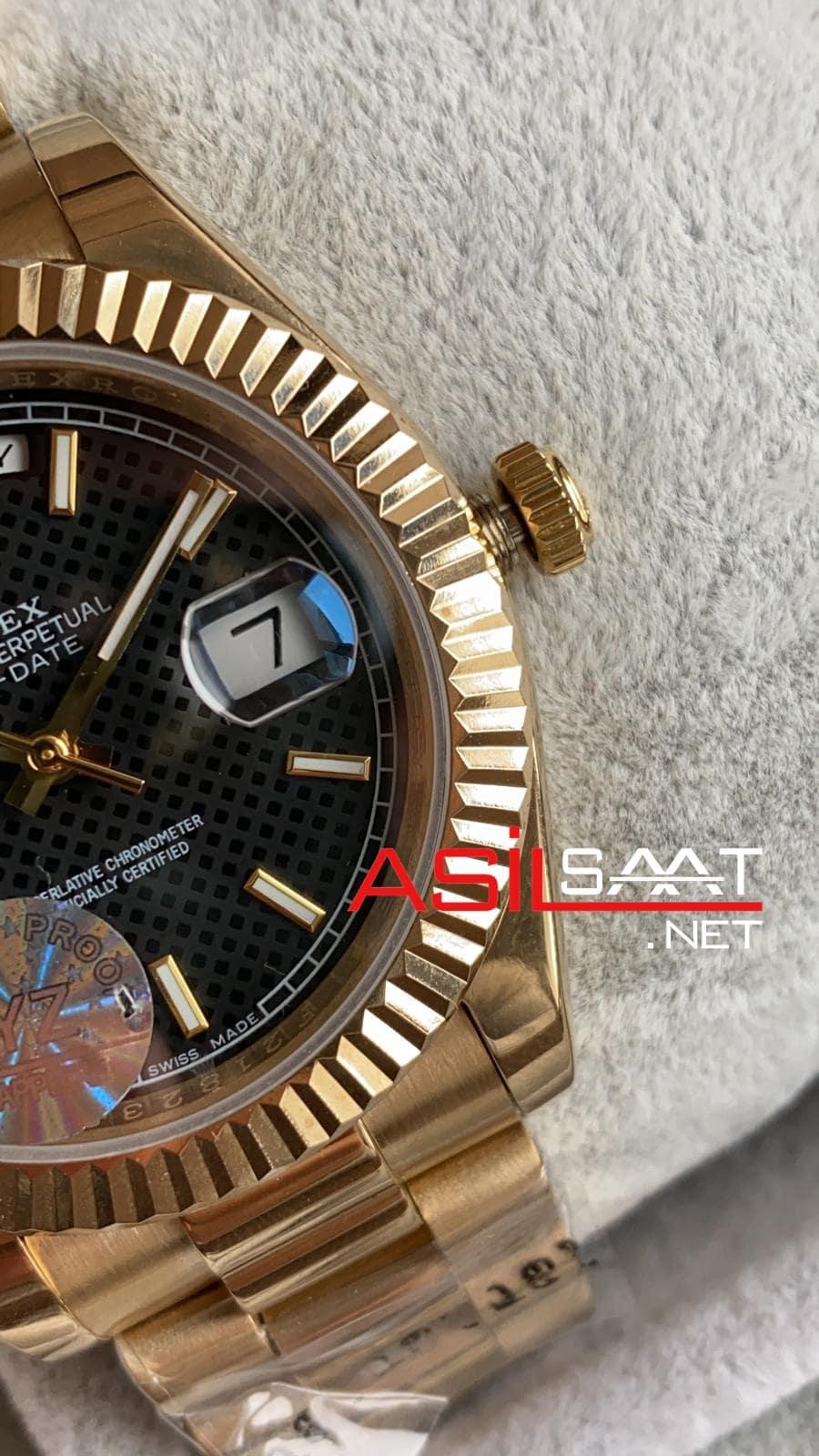 Rolex Day-Date Gold Replika Saat ROLDD025