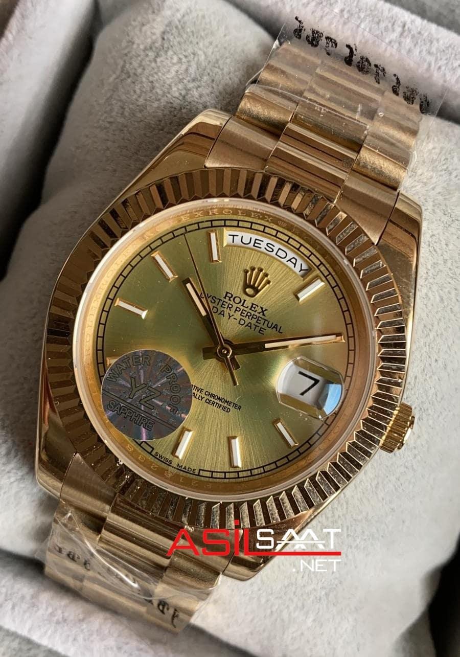 Rolex Day-Date Gold Replika Saat ROLDD027