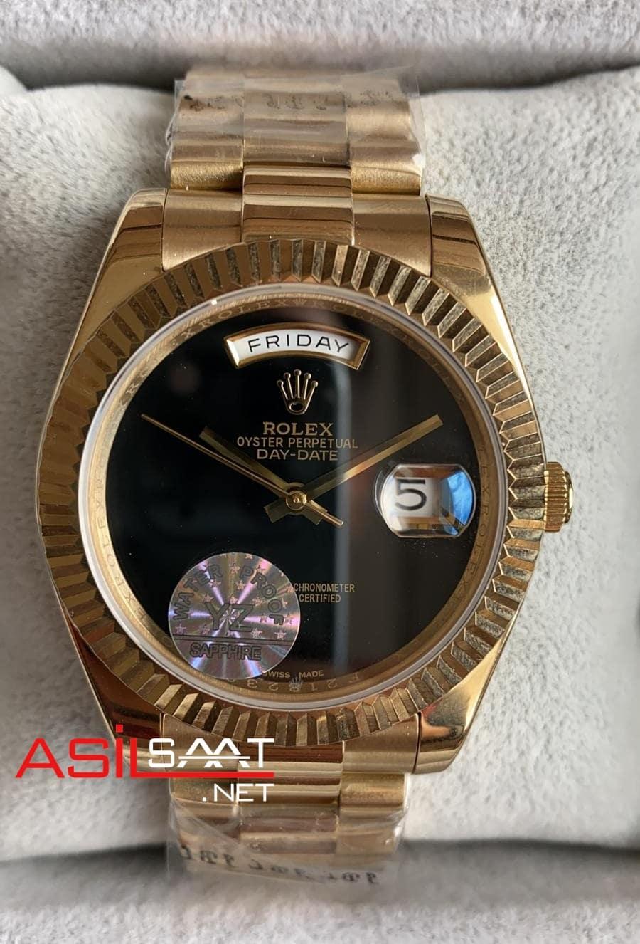 Rolex Day-Date Gold Replika Saat ROLDD041