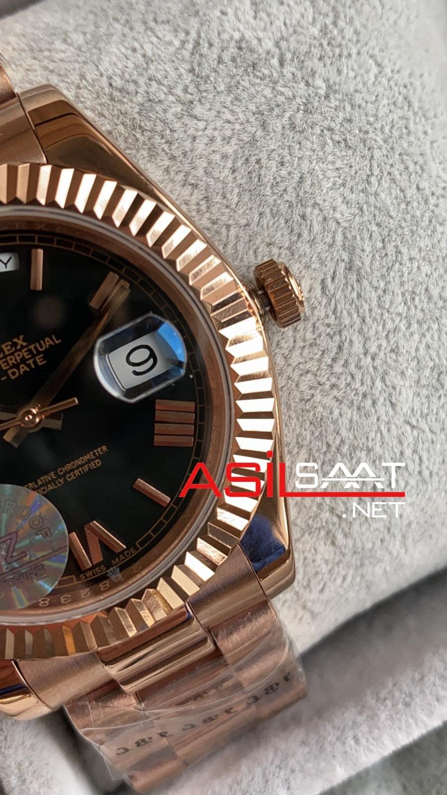 Rolex Day-Date Rosegold Replika Saat ROLDD032