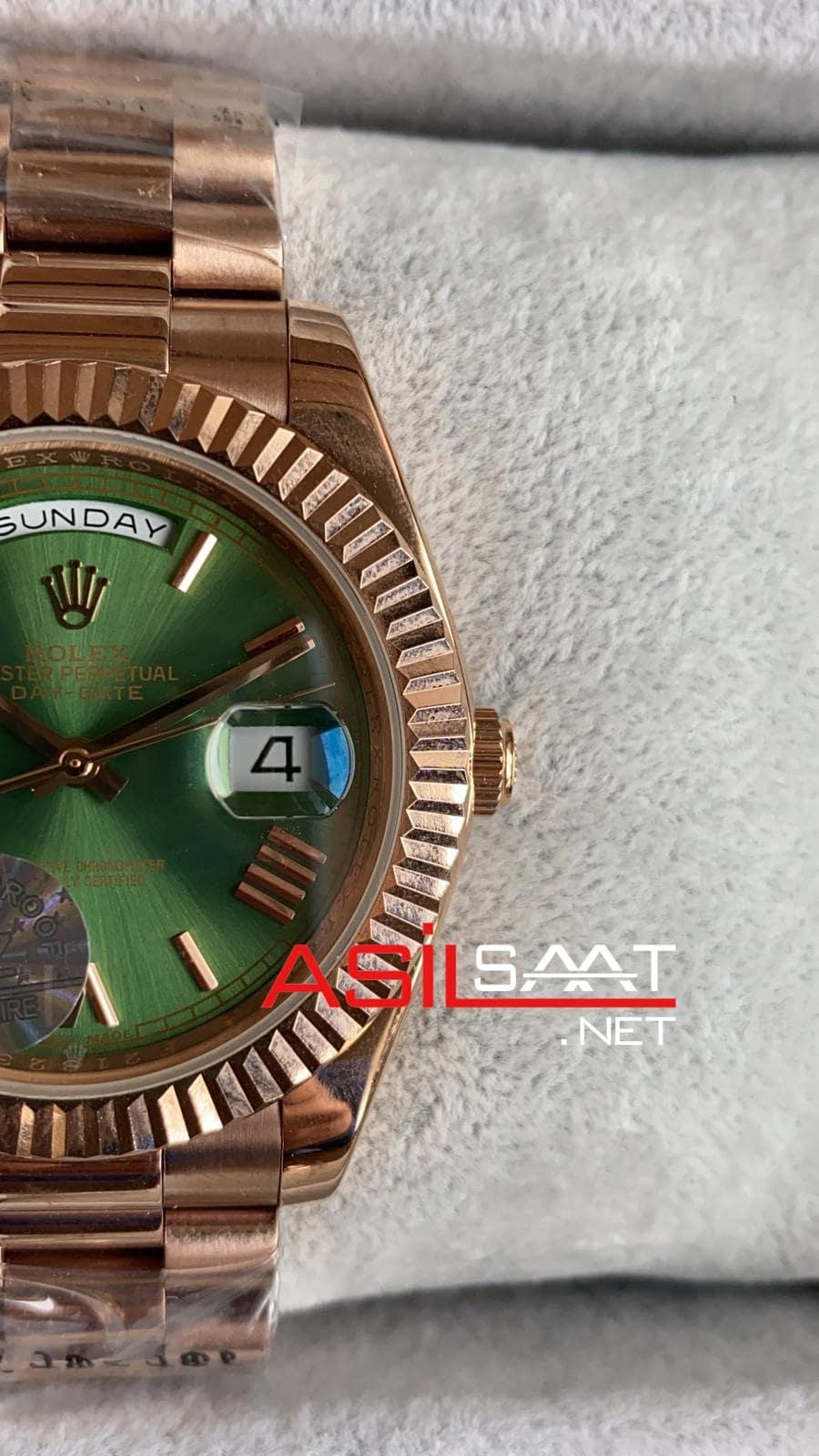 Rolex Day-Date Rosegold Replika Saat ROLDD034