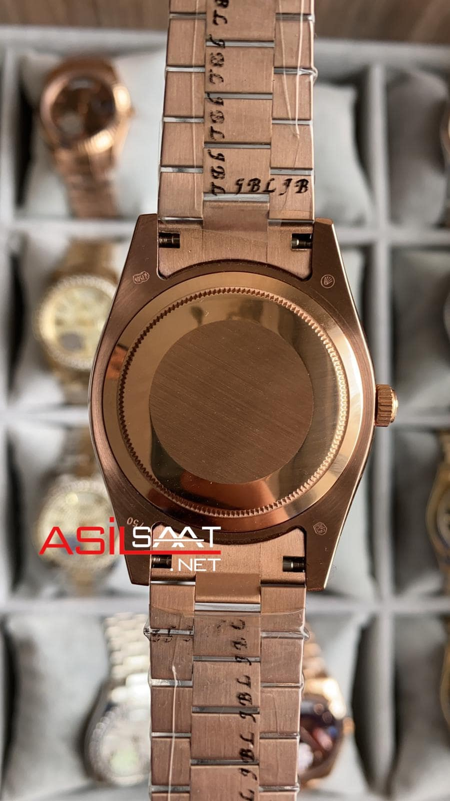 Rolex Day-Date Rosegold Replika Saat ROLDD042