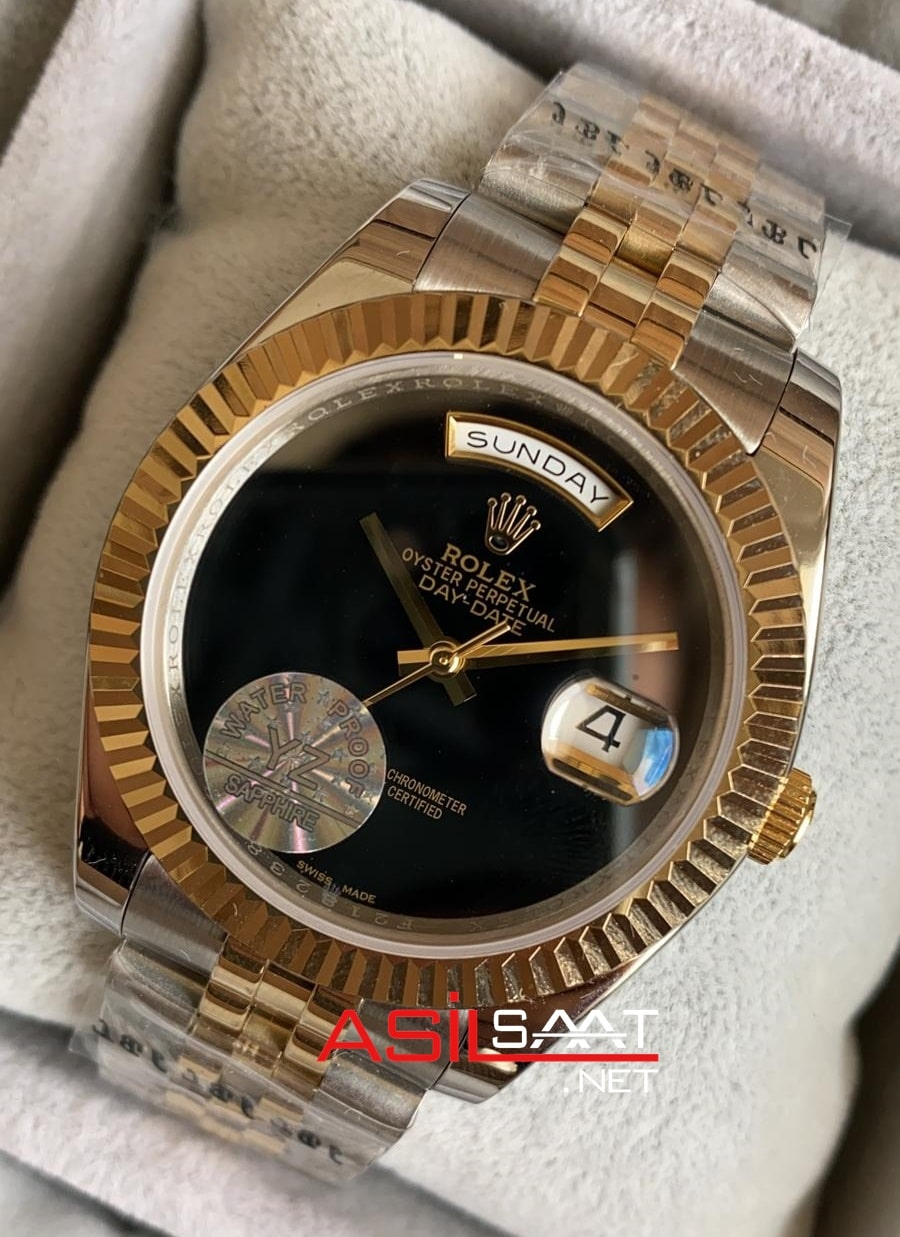 Rolex Day-Date Two Tone Replika Saat ROLDD020