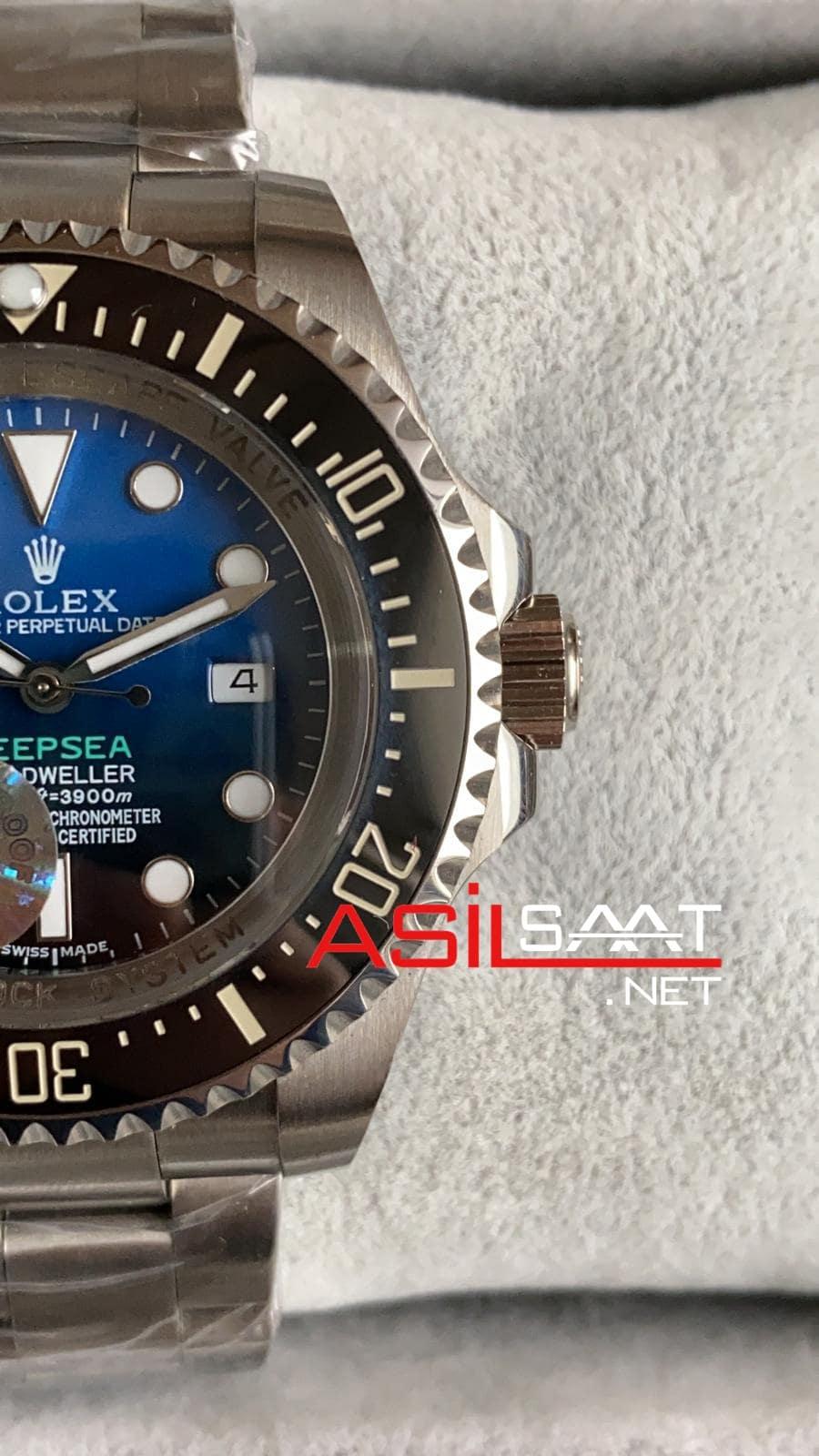 Rolex Deepsea Silver Replika Saat ROLDEP002