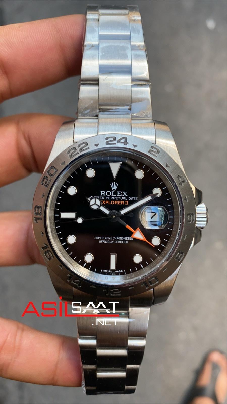Rolex Explorer Silver Replika Saat ROLXP001