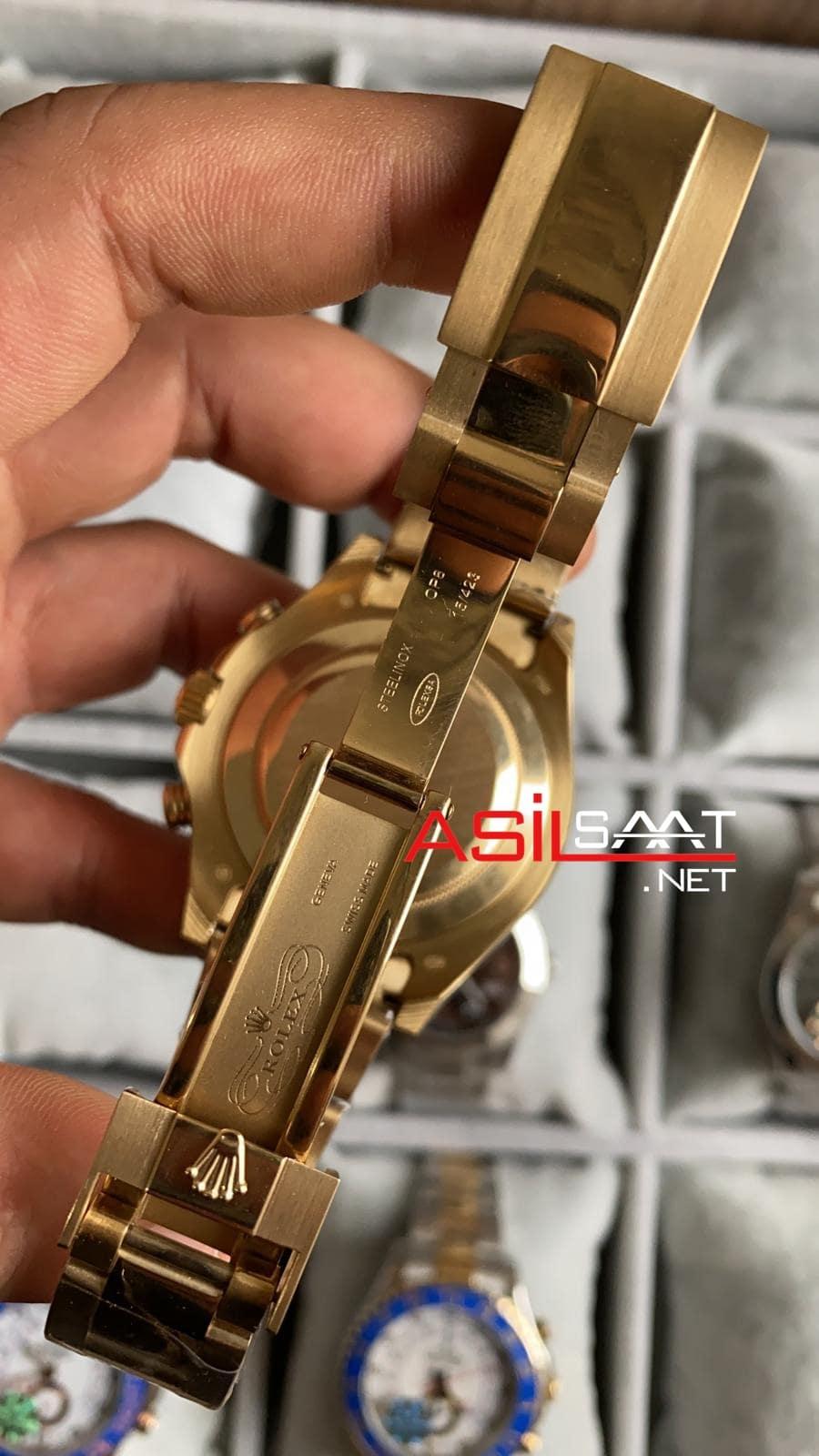 Rolex Yacht-Master II Gold Replika Saat ROLYM004