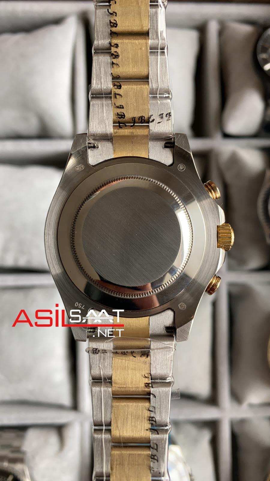 Rolex Yacht-Master II Silver Gold Replika Saat ROLYM002