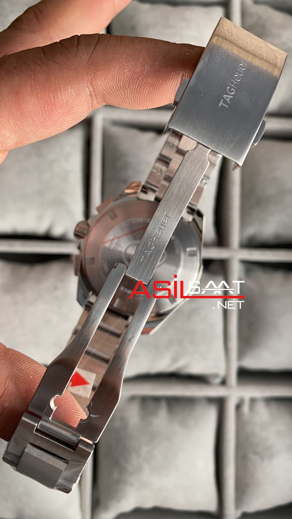 TAG Heuer Aquaracer Calibre 5 Silver Replika Saat TAGA001