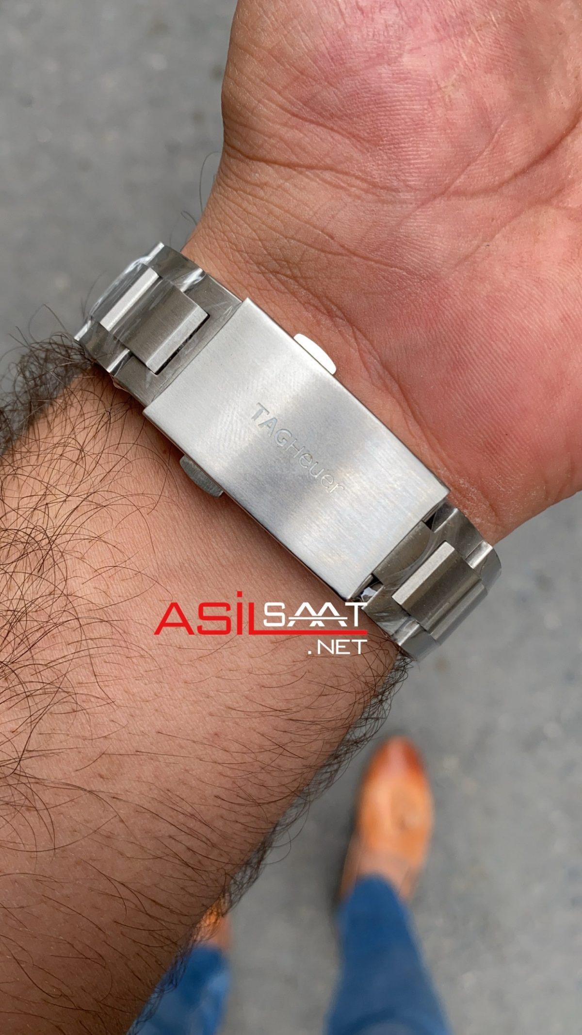 TAG Heuer Aquaracer Calibre 5 Silver Replika Saat TAGA004