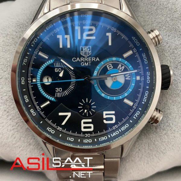 TAG Heuer Bmw Silver Chronograph Replika Saat TAGBMW01