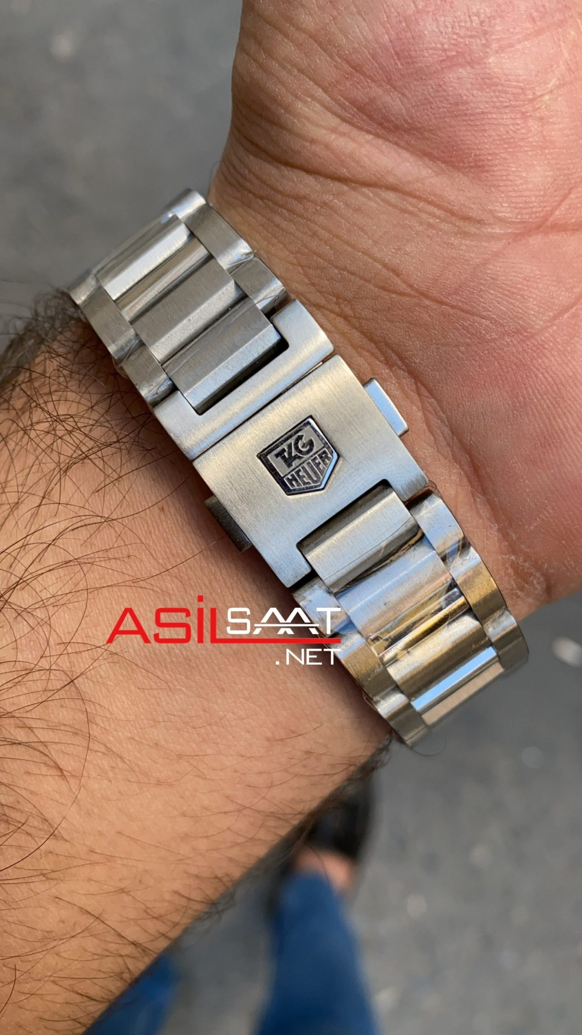 TAG Heuer Carrera Calibre16 Silver Chronograph Replika Saat TAGC16001
