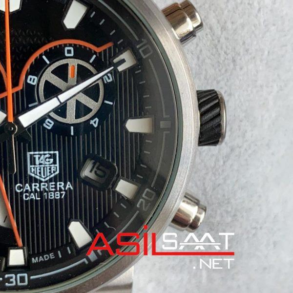 Tag Heuer Carrera McLaren Cal1887 Silver Chonograph Replika Saat TAGMC001