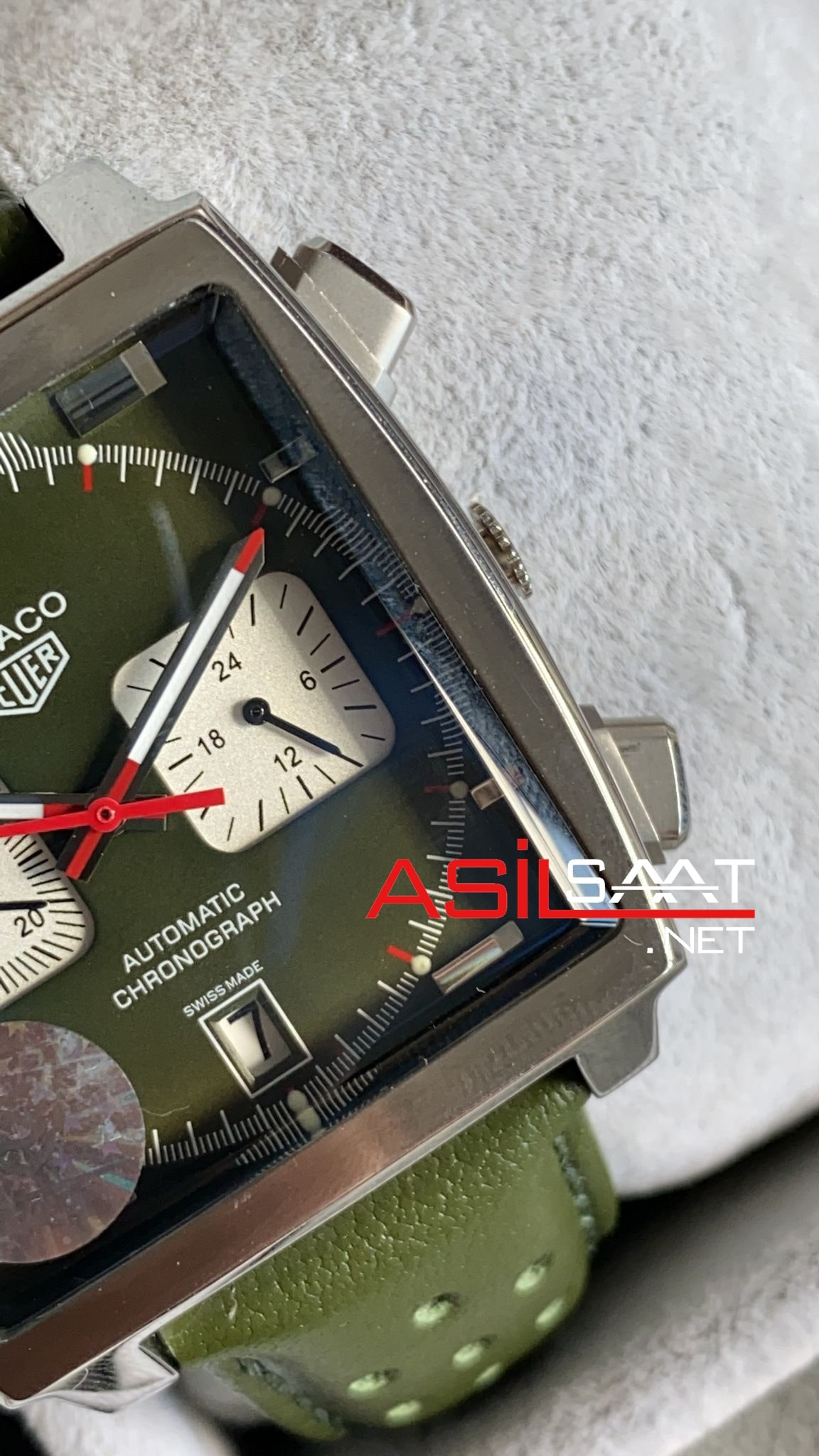 Tag Heuer Monaco Silverh Replika Saat TAGMO004