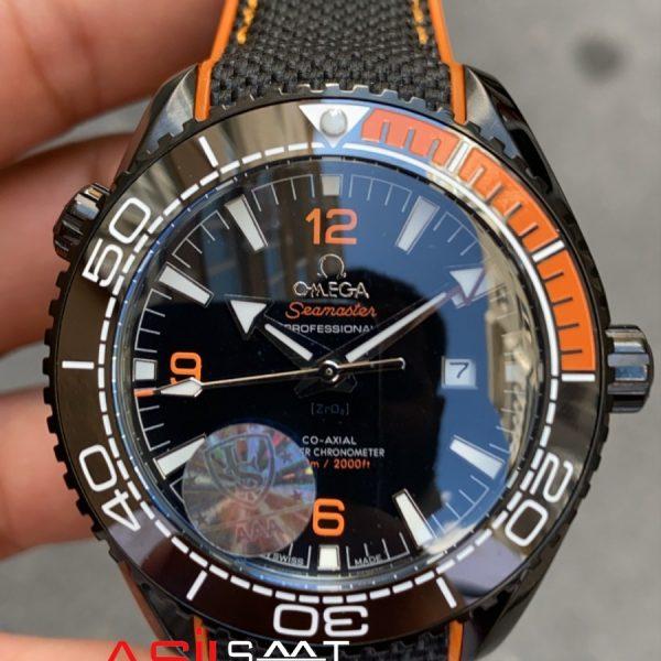 OMEGA Seamaster Black Replika Saat OSEA011
