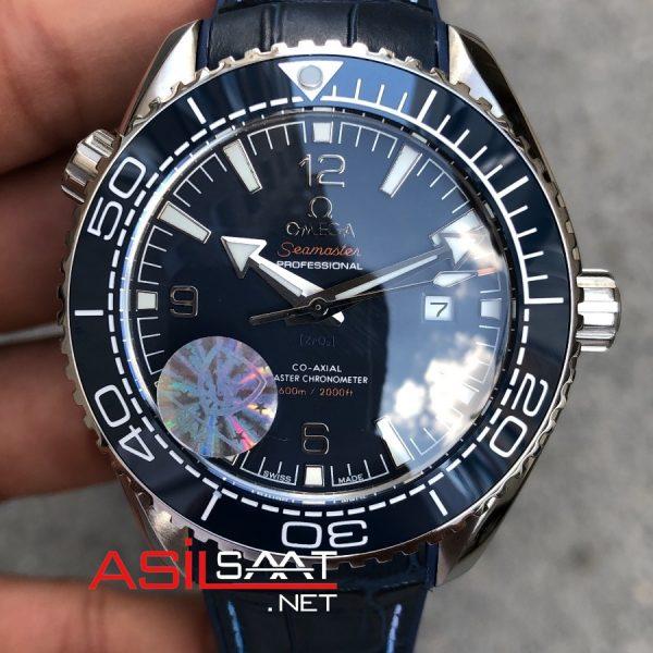 OMEGA Seamaster Silver Blue Replika Saat OSEA009