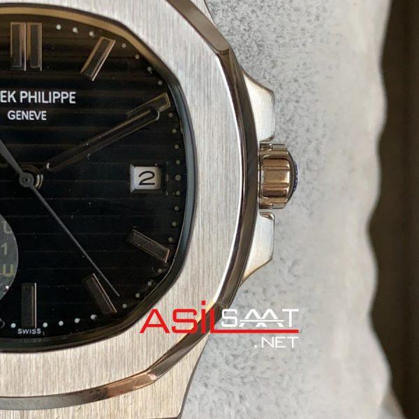 PATEK PHILIPPE Nautilus 40th Year Anniversary Silver Replika Saat PPNA018